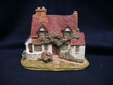 "Lilliput Lane Brock Bank 3-1/4"" Tall w/ pamplet and deed and box"