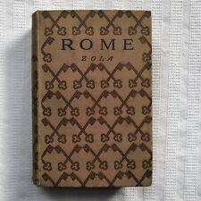 Emile Zola ROME 1st HB Ed