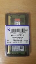 Kingston Technology 16GB DDR4 2400MHz di memoria RAM KCP424SD8/16 (MIC)