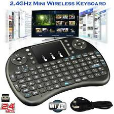 Wireless Mini QWERTY Keyboard 2.4G Touchpad for PC Android TV Kodi Media Box