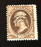 us stamps 19th century used #187