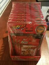 SCAN 2GO Racing Cards 12 Value Packs. New and Sealed