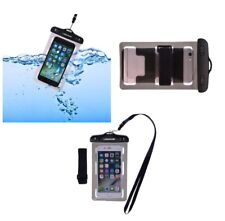 for MOTOROLA SPICE KEY Armband Protective Case 30M Waterproof Bag Universal