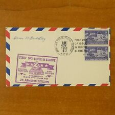 General Omar Bradley Signed First Day Cover Cachet