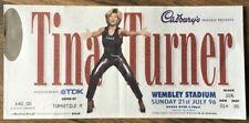 More details for tina turner wembley stadium concert ticket 21 july 1996 - cadburys tdk