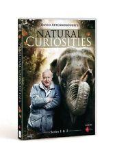 DAVID ATTENBOROUGH'S NATURAL CURIOSITIES 1+2 2013-2014: BBC TV Series NEW R2 DVD