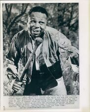 1959 Boxer Archie Moore as Jim in Adventures of Huckleberry Finn  Press Photo