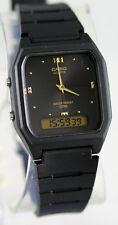 Casio AW-48HE-1AV Watch Black Digital Analog 50M Water Resistant Classic New