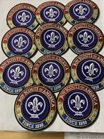 Cub Scout Boy Scout World Crest Ring Patch With International Badge