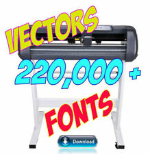 Vectors Clipart Logos Icon Fonts EPS Plotter Brother Scan n Cut 220,000+ Designs