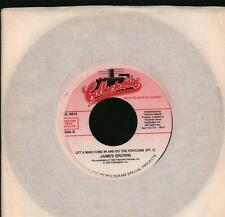 """James Brown(7"""" Vinyl)Let A Man Come In And Do The Popcorn-COL 4414-66-VG/NM"""