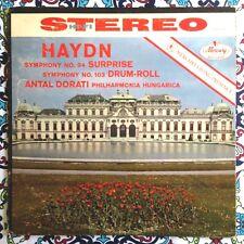 Antal Dorati Haydn Surprise Symphony Mercury Living Presence Stereo LP FR4/FR2
