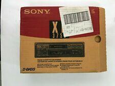 Rare Sony XR-3750   AM/FM Cassette Player New in original box
