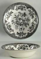 Royal Stafford ASIATIC PHEASANT BLACK Round Vegetable Bowl 10473889