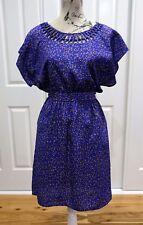 Mossimo Blue Dress, Hippie, Retro, Vintage Style,Hipster Dress Size Medium