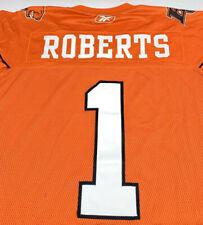 Reebok Mens XL CFL Football Jersey BC Lions #1 Roberts Canada