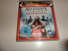 PlayStation 3  Assassinss Creed Brotherhood - Essentials Edition