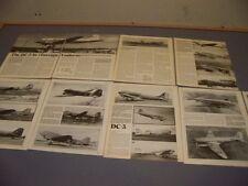 VINTAGE..DOUGLAS DC-3 (FOREIGN)....HISTORY/PHOTOS/DETAILS..RARE! (457J)