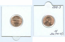 USA  1 Cent Lincoln 1979 D  stempelglanz (MS-65)