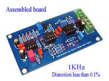 Assembled Low Distortion Audio Range Oscillator 1KHz Sine Wave Signal Generator