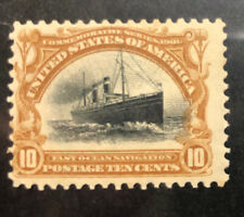TDStamps: US Stamps Scott#299 Unused Regum Lightly Gum Crease