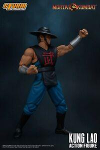 "1:12 Storm Toys DCMK06 Kung Lao Mortal Kombat Collectible 6""Figure Set"