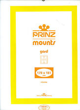Package of 4 Prinz BLACK Mounts 178 x 181