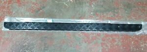 for LAND ROVER DEFENDER 90 LH BLACK CHECKER PLATE SILL 1987-2006 NEW 8510197