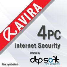 Avira Internet Security Suite 4 PC 2020 VOLLVERSION 4 GERÄTE 2020 DE