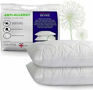Luxury Pillows Quilted Ultra Soft Jumbo Super Firm Deluxe Bounce Back Extra Fill