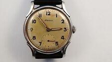 ALPINA art deco military dial vintage watch handwinder