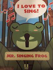 HEAD CASE DESIGNS Mr. Singing Frog: I Love To Sing