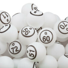 1.5-Inch Professional Ping Pong Style Replacement Bingo Balls by GSE (#B1-O75)