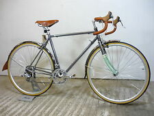 "Bobbin Cambridge Racer Gents Retro Road Bike 21"" Md Cromo New Shop Soiled Cool!!"
