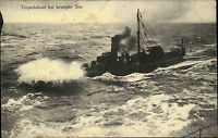 Kaiserliche Marine 1. Weltkrieg Torpedoboot auf See Torpedo Boot World War I.