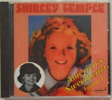 SHIRLEY TEMPLE - America's Sweetheart - Volume 1- BRAND NEW -  CD