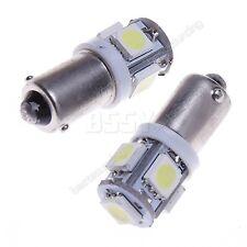10X T11 BA9S T4W 5 SMD LED Ampoule 12V 6000K Blanc Veilleuse Lampe Xenon Lumiere