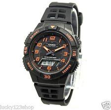 AQ-S800W-1B2 Black Casio Watch Tough solar 5 alarms World time Stopwatch Rsein