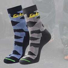SNICKERS 9219 FLEXIWORK Camo Mid Socks
