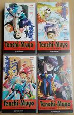 COLECCIÓN DE PELÍCULAS DE TENCHI MUYO -KAJISHIMA MASAKI Y HIROSHI HAYASHI- VHS