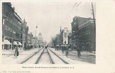 CORTLAND NY – Main Street North from Court Street – udb (pre 1908)