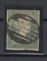 X759/ SPAIN – ISABEL II – EDIFIL # 39 USED – CV 220 $