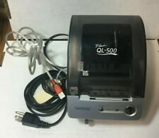 Brother P Touch Ql 500 Usb Thermal Transfer Monochrome Label Printer Usb