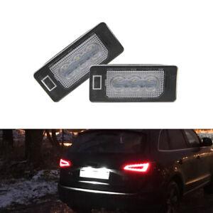 CANbus Led License Plate Light For Skoda Octavia Rapid Fabia MK2 MK3 Superb B6