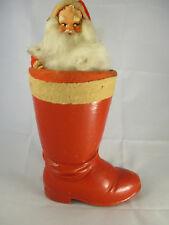 Vintage Western Germany Santa in Boot