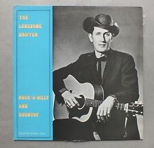 33 TOURS - Rock-A-Billy And Country - THE LONESOME DRIFTER - CL 1022 *