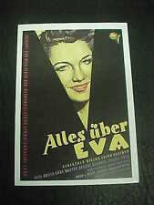 All About Eve, film card (Anne Baxter; Bette Davis, Marilyn Monroe)