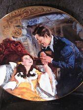 1990 Gone With The Wind Scarlett And Rhett'S Honeymoon Ltd Ed Plate