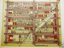 New ListingBrooklyn Map 1929 Boro Park / Bensonhurst Matted