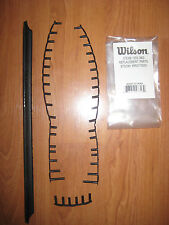 Wilson Steam 105S Headguard and Grommets for Tennis Racket -WRG715500